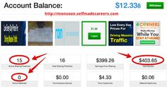 TRAFFIC MONSOON MONEY PROOF | FORGET BEING BROKE