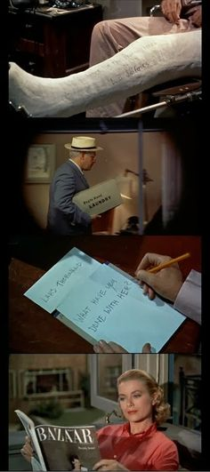 Typography in REAR WINDOW on January 25 at 7 p.m., Part of the Jimmy Stewart Weekend #Hitchcock #Savannah #film