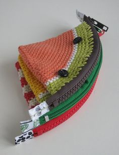 crochet purse - cute little present idea #summer