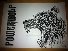 Powerwolf, wolf by vermaledeyt.deviantart.com on @DeviantArt