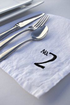 Wedding Table Numbers - Wedding Decorations - Page 15