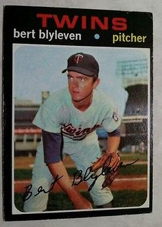 1971 Topps #26 Bert Blyleven RC Team: Minnesota Twins