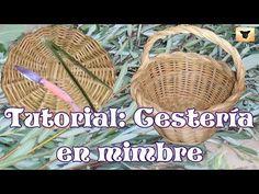 9 Pasos para la elaboración artesanal de una cesta, desde la recolecta del Mimbre. - YouTube