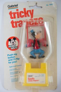 Disney Goofy Vintage Tricky Trapeze