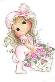 MINI PL14 Tilda with rose basket