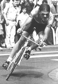 Gerrie Kneteman. Although no ranking rider for the Tour de France, he was one of the most successful Dutch Tour Riders. Ten times he won a stage.