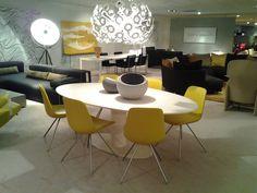 Metaform Orfis Ovaal Riant salontafel met keramisch bovenblad