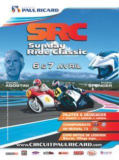 Sunday Ride Classic 6-7 Avril au Circuit Paul Ricard Circuit, Sunday, Classic, Motorbikes, Ricard, Derby, Domingo, Classic Books