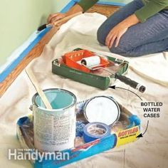 Follow these tips to make your painting project easier and cut your clean up time in half!