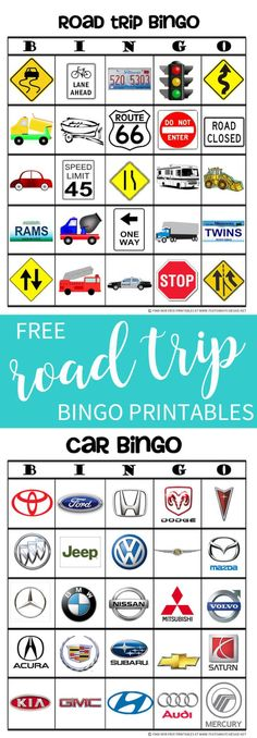 Combine the game of I Spy Bingo for this fun Road Trip Bingo game that's sure to keep the kids busy on road trips this year! Grab your free printable and see how I make an easy board to help in the car! We are want to say thanks if you like to share [] Road Trip Bingo, Road Trip Games, Road Trips, Bingo For Kids, Games For Kids, Activities For Kids, Kids Fun, Happy Kids, Learning Activities