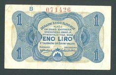 YUGOSLAVIA SLOVENIA 1 Lira Liro 1944 VF WWII - PARTISAN MONEY Scarce! http://cgi.ebay.com/ws/eBayISAPI.dll?ViewItem&item=161234782876