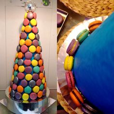 Disco theme Macaron tower for a lovely friends daughter
