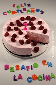 Tarta helada Nube de fresa (Strawberry Cloud Cake)