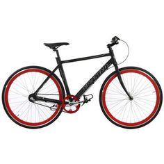 Framed X300 3 Speed Bike Black/Red 56cm