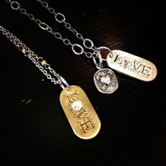 (Have this charm) Show your LOVE on Valentine's Day with Waxing Poetic Necklaces and Love Pendants. Jewelry Ideas, Diy Jewelry, Jewelry Box, Jewelry Making, Waxing Poetic, Mixed Metal Jewelry, Old World Charm, St John's, Necklaces