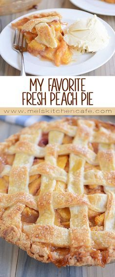 Looking for a tried-and-true fresh peach pie recipe? This is the one! It's my favorite peach pie for good reason: simple and so delicious! Plus, you can top it with a traditional lattice crust OR a buttery, yummy, sweet crumb topping.