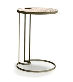 Signature Key Hole End Table C Table, Corner Table, End Tables, Custom Furniture, Luxury Furniture, Modern Furniture, Furniture Design, Luxury Dining Tables, Key Projects