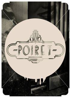 Poiret 1940´s by Pancho López, via Behance