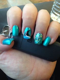 Saving The World One Nail At A Time Shark Week Art Cute Nails In 2018 Pinterest And Designs