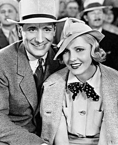 Victor Jory & Jean Arthur - Party Wire (1935) Hollywood Style, Hollywood Fashion, Classic Hollywood, Old Hollywood, Jean Arthur, Trip The Light Fantastic, Irene Dunne, Film Story, It Goes On