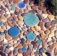 avantgardeners, gartengestaltung + mosaik - mosaik für draußen, Garten ideen