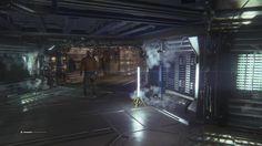 alien isolation interior - Google Search