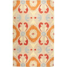 Hand-Knotted Volare Beige Area Rug (8' x 10') $482.79