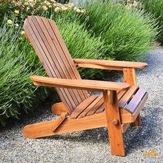 Shop a great selection of Plant Theatre Adirondack Folding Hardwood Chair. Find new offer and Similar products for Plant Theatre Adirondack Folding Hardwood Chair. Plans Chaise Adirondack, Plastic Adirondack Chairs, Adirondack Furniture, Wooden Garden Chairs, Plastic Patio Chairs, Wooden Outdoor Chairs, Wood Patio, Rustic Furniture, Garden Furniture
