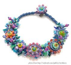 Keepsake Crafts | WOYWW – Spiny Knotted Bead Bracelet | http://keepsakecrafts.net/blog