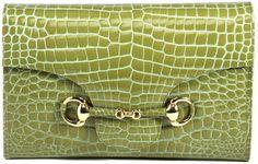 Clutch Black Crocodile Handbag - Alligator Product by RAPHAEL