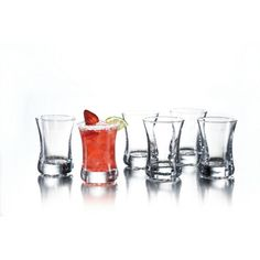 @Overstock.com - Fifth Avenue Crystal Kentucky 4-ounce Shot Glass (Set of 6) - Get the party started with this unique shot glass set. Featuring six four-ounce glasses, this clear design has a sleek and beautiful aesthetic. Perfect for your next party or gathering, they make a great addition to your home bar.     http://www.overstock.com/Home-Garden/Fifth-Avenue-Crystal-Kentucky-4-ounce-Shot-Glass-Set-of-6/7821117/product.html?CID=214117 $18.66