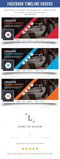 FEATURES:Easy Customizable and Editable Facebook cover standard size- 851x315px Psd files are easy to handle 300 DPI High Resoluti Web Design, Social Media Design, Page Design, Graphic Design, Flyer Design, Facebook Cover Design, Facebook Timeline Covers, Facebook Business, Web Business