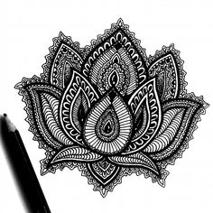 •SOLD• .Available tattoo design, lotus flower only for $15USD. Dm me if you are interested or if you want a customized design. ✌🌱 . . . •Let me see your opinions please❤✌ . . . . #Art #Illustration #Zentangle #Design #Doodle #Original #Draw #Drawing #Tattoo #Picoftheday #Details #Mandala #Creative #Ink #Artistsofintagram #Artwork #blackandwhite #micron #sketch #artsharing #instadaily #artwork #amazing #blackwork #summer #instalike #bestoftheday #linework #like4like