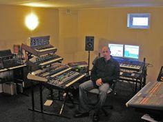Rob Papen in his studio