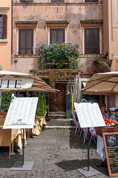 restaurant at Piazza Navona