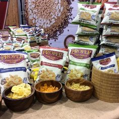 Delicious awesome #ProperCrips by #shoppri #ExpoWest #2493 #snacks #snackfood #crips #snacks #healthfood.