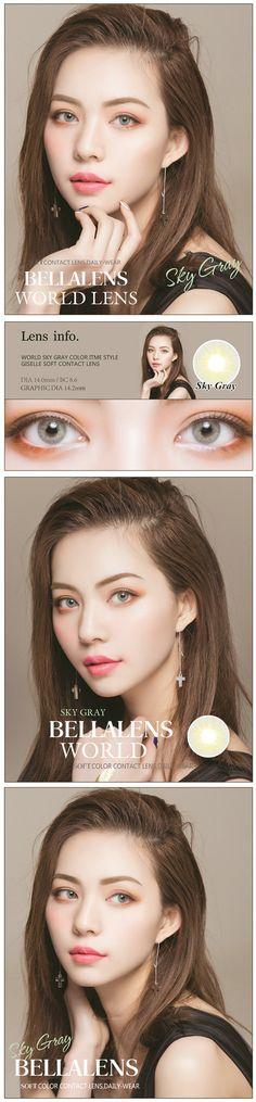 14.20mm Bella Aurora Contact Lens Color Sky Gray - $16.99 : contactlensdropshipping.com, online shopping