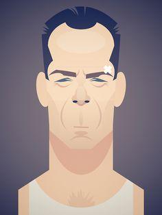 John McClane by Stan Chow
