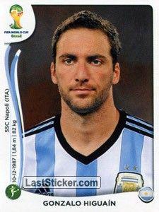 Gonzalo Higuaín - Argentina