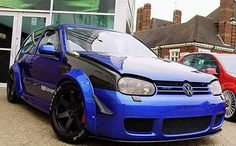 ABW Motorsport Fender Flares Volkswagen Golf MK4 R32-Import Image Racing