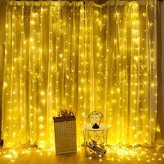 iEGrow Lichterkette 300er LED warmweiß 30m dimmbare Kupferdraht wasserdicht Sternenlicht für Innen Draussen Zimmerdekoration Weihnachtslichterkette Party Hochzeit 3 Modi 10 Helligkeit [CE genehmigt] - 9.99 - 5.0 von 5 Sternen - Lichterkette Herbst 2019