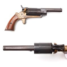 Gun Of The Day – Walch revolver About 3,000 examples of our GOTD were made, but this unusual revolver wasn't a six-shooter – it carried ten loads, fired by two hammers, by a single  spur trigger. This .31 caliber percussion piece was a creation of John Walch, J.P. Lindsay,  and the New Haven Arms company. Patented in 1859, the potential firepower  of the Walch didn't go unnoticed by Civil War soldiers.