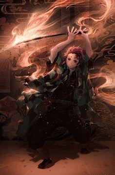 Natsuki Hanae in Demon Slayer: Kimetsu No Yaiba Demon Slayer, Slayer Anime, Animes Wallpapers, Cute Wallpapers, Hd Wallpaper, Dark Fantasy, Fantasy Art, Zenitsu Kimetsu No Yaiba, Manga Japan