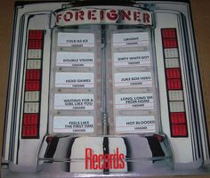 """Foreigner """"Records"""" Greatest Hits"""