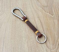 Keychain Keychain de cuero llavero llavero de por Monkeychain196