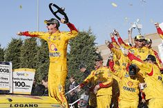 NASCAR: Logano wins again in Kansas after Kenseth clash. RACER.com