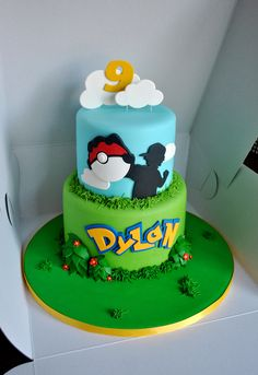Make me this cake, except with 23, Alynne and as a girl trainer. kthx