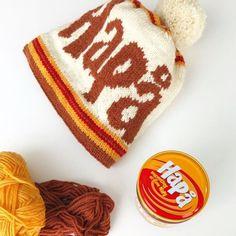 HaPå-luen - Kavli Norge Knitting, Tricot, Stricken, Weaving, Knitting Stitches, Knits