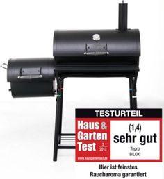 """Der Testsieger unter den Grills: Der Tepro """"Biloxi"""" Smoker-Holzkohlengrill"""