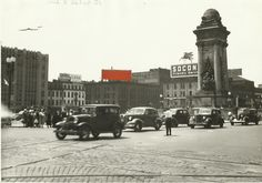 1930's downtown intersection of Salina & Genesee Sts.